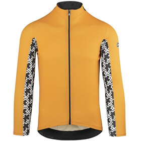 assos Mille GT Summer LS Jersey Men orange borealis